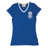 Husqvarna Classic Logo Ladies V-Neck T-Shirt