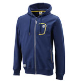 Husqvarna Basic Logo Zip-Up Hooded Sweatshirt