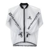 Husqvarna Transparent Rain Jacket 2019 Clear