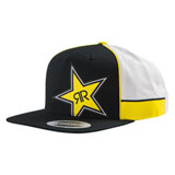 Husqvarna Rockstar Factory Team Snapback Hat Black/White