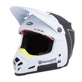 Husqvarna Moto-9 Carbon Flex Railed Helmet White/Black