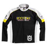 Husqvarna Rockstar Replica Team Zip-Up Jacket Black/White