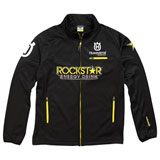 Husqvarna Rockstar Replica Tech Fleece Zip-Up Jacket Black