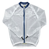 Husqvarna Transparent Rain Jacket Clear