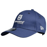 Husqvarna Replica Curved Team Snapback Hat Blue