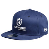 Husqvarna Replica Team Snapback Hat Blue