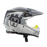 Husqvarna Moto-9 Carbon Flex Railed Helmet Grey