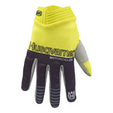 Husqvarna Youth iTrack Railed Gloves Yellow