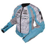Icon Merc Stage 3 Ladies Motorcycle Jacket