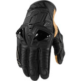 Icon Hypersport Short Motorcycle Gloves