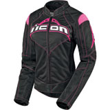 Icon Contra Ladies Motorcycle Jacket