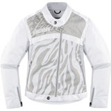 Icon Hella 2 Ladies Textile Motorcycle Jacket