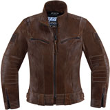 Icon 1000 Fairlady Ladies Motorcycle Jacket