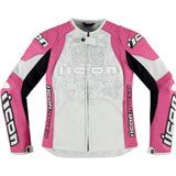 Icon Overlord Prime Ladies Motorcycle Jacket