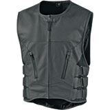 Icon Regulator Stripped Motorcycle Vest