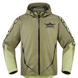 Icon Raiden UX Battlescar Waterproof Jacket