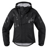 Icon Women's PDX 2 Waterproof Rain Jacket Black