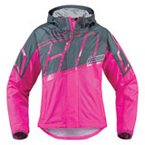 Icon Women's PDX 2 Waterproof Rain Jacket Pink