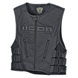 Icon Regulator D3O Leather Vest