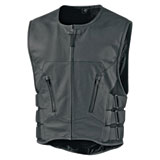 Icon Regulator D30 Stripped Leather Vest