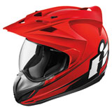 Icon Variant Double Stack Helmet Red