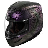 Icon Airmada Chantilly Opal Helmet Purple