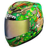 Icon Airmada Lepricon Helmet Green