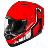 Icon Alliance Overlord Helmet Red
