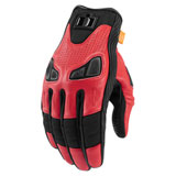 Icon Automag 2 Gloves Red