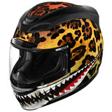 Icon Airmada Sauvetage Duex Helmet Yellow/Black