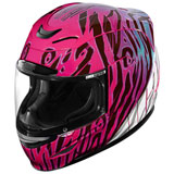 Icon Airmada Wild Child Helmet Pink/Purple/White