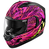 Icon Alliance GT Bird Strike Helmet Pink/Black