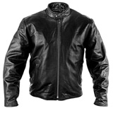 Interstate Leather Basic Touring Motorcycle Jacket