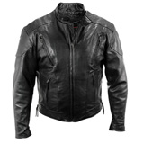 Interstate Leather Touring Motorcycle Jacket
