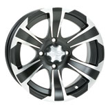 ITP SS312 Alloy Series Wheel Matte Black