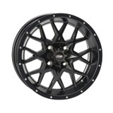 ITP Hurricane Wheel Matte Black