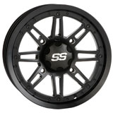ITP SS216 Alloy Series Wheel Matte Black