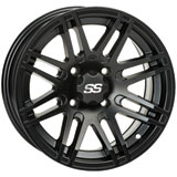 ITP SS316 Alloy Series Wheel Matte Black