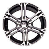 ITP SS212 Alloy Series Wheel Machined