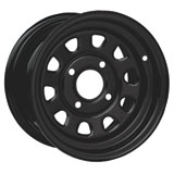 ITP Steel Wheel Black