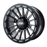 ITP SD Series Single Beadlock Wheel Matte Black/Milled