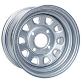 ITP Steel Wheel Silver