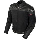 Joe Rocket Reactor 2.0 Perforated Leather/Mesh Motorcycle Jacket