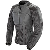 Joe Rocket Radar Ladies Leather Motorcycle Jacket