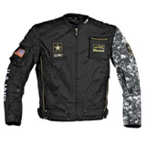 Joe Rocket U.S. Army Alpha Textile Motorcycle Jacket