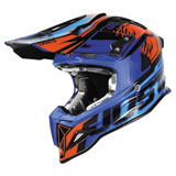 Just 1 J12 Dominator Helmet Blue/Red