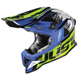 Just 1 J12 Dominator Helmet Yellow/Blue