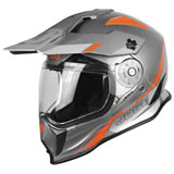 Just 1 J14 Line Dual Sport Helmet Grey