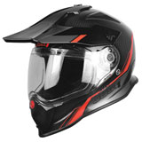 Just 1 J14 Line Dual Sport Helmet Red