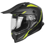 Just 1 J14 Line Dual Sport Helmet Yellow